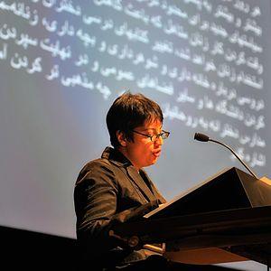 Shadi Sadr - Shadi Sadr in Amsterdam.