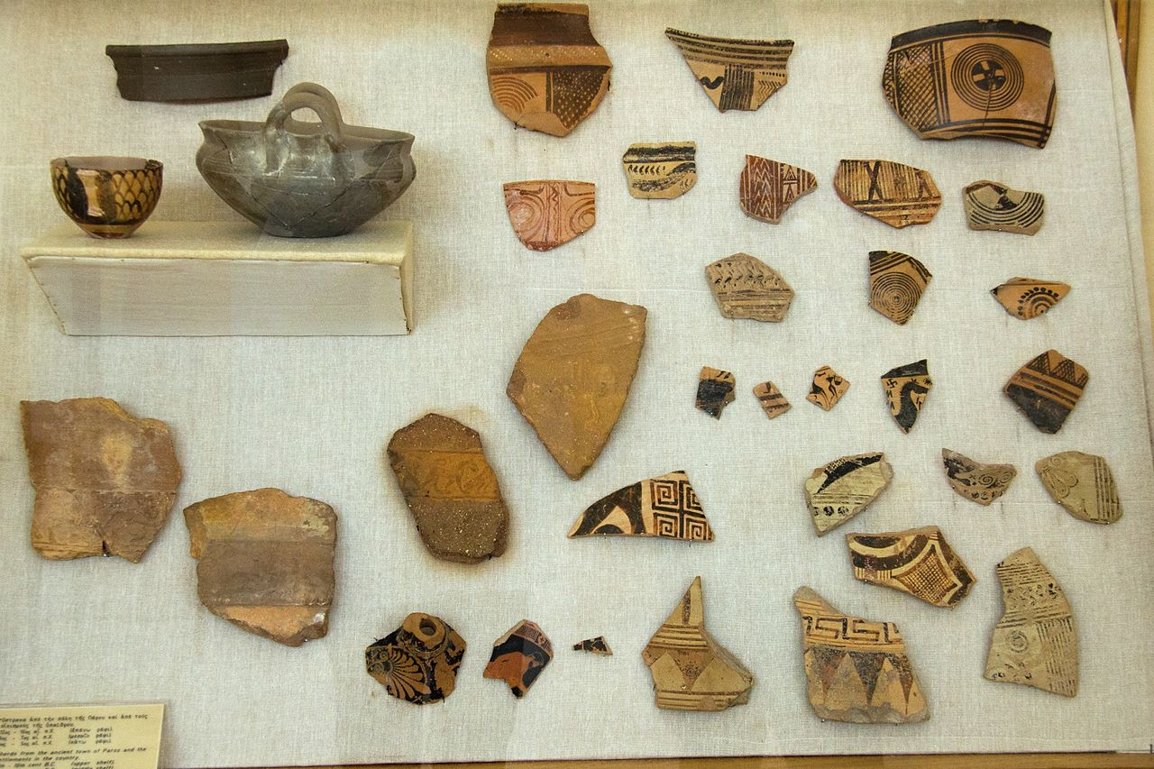 from Kolby dating pottery shards