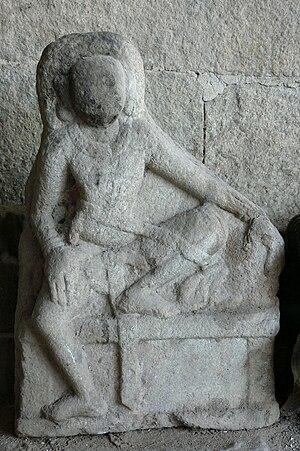 Shasta (deity) - Shasta from Kudumiyanmalai, Tamil Nadu.
