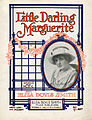 Sheet music cover - LITTLE DARLING MARGUERITE (1919).jpg