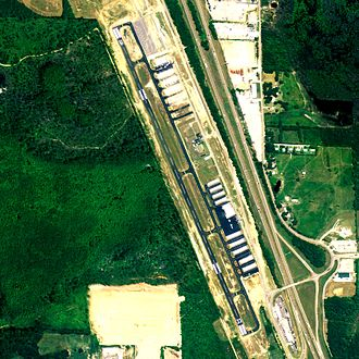 Shelby County Airport (Alabama) - NAIP aerial image, 2006