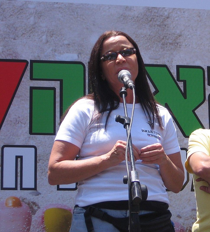Shelly Yachimovich - Gay Pride Tel Aviv 2007 שלי יחימוביץ' במצעד הגאווה תל אביב