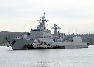 Type 051B destroyer - Image: Shenzhen (DDG 167)