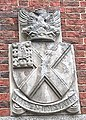 Shield by front entrance gate of Hampshire County Council HQ Winchester.jpg