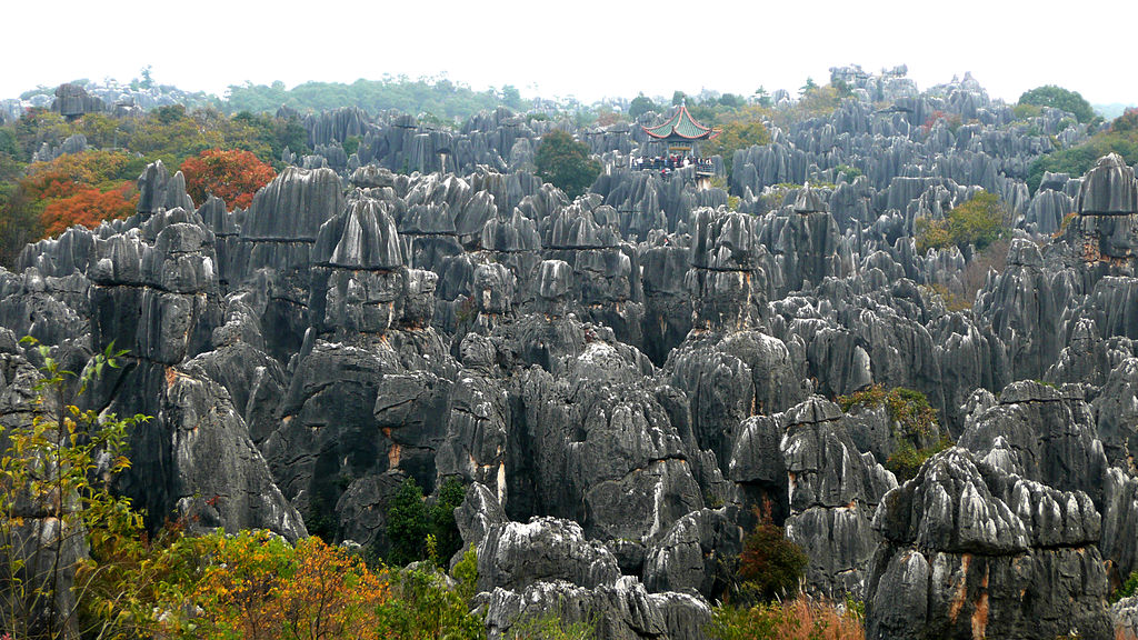 Shilin Stone Forest 01