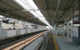 Shin-Maruko Station Railway station in Kawasaki, Kanagawa Prefecture, Japan