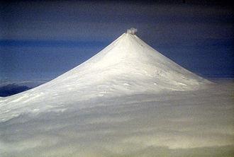 Mount Shishaldin - Mount Shishaldin, May 1994