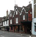 Shops in Cliffe High Street, Lewes, East Sussex - geograph.org.uk - 1113819.jpg