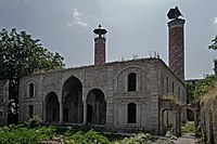 Shushi, Mosque Ashagi (Lower) Gevhar Aga - panoramio.jpg