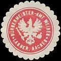 Siegelmarke Bürgermeister-Amt Weiden Landkreis Aachen W0384272.jpg