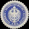 Siegelmarke K. Marine Kommando S.M.S. Seydlitz W0357645.jpg
