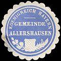 Siegelmarke Koenigreich Bayern - Gemeinde Allershausen W0235542.jpg