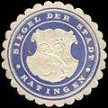 Siegelmarke Siegel der Stadt - Ratingen W0259936.jpg