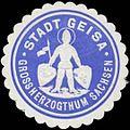 Siegelmarke Stadt Geisa Gr. Sachsen W0356332.jpg
