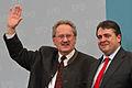 Sigmar Gabriel Christian Ude 2012 Politischer Aschermittwoch SPD Vilshofen 16.jpg