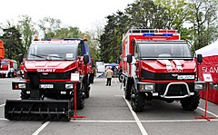 Silant 3.3TD vehicles at ISSE 2011.jpg