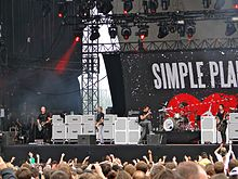 I Simple Plan in concerto nel 2011