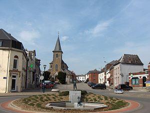 Sivry-Rance - Image: Sivry Eglise