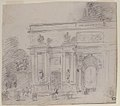 Sketch of Triumphal Arch (recto); Alternate Study for Triumphal Arch (verso) MET 1980.1018.jpg