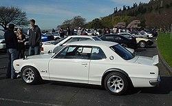 Nissan Skyline KGC10 GT-X (L20 engine)