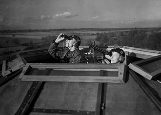 Aircraft recognition - Royal Observer Corps aircraft spotters during World War II