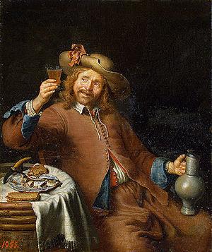Pieter Cornelisz van Slingelandt - Image: Slingelandt, Pieter Cornelis van Breakfast of a Young Man 17th century
