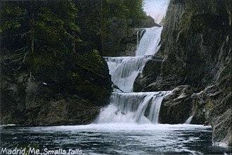 Madrid, Maine - Small's Falls c. 1907