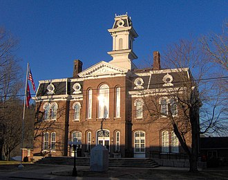 Carthage, Tennessee - Smith County Courthouse in Carthage