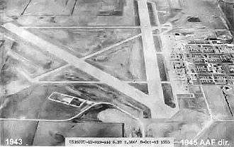 Schilling Air Force Base - Smoky Hill Army Air Field – Kansas – 8 Oct 1943