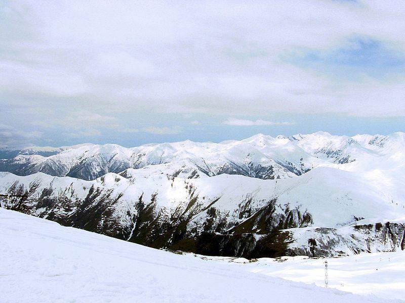 El Cáucaso en Gudauri (Georgia
