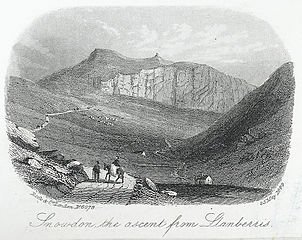 Snowdon, the ascent from Llanberis