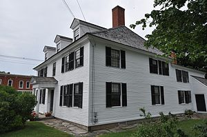 Sarah Orne Jewett House - Image: South Berwick ME Jewett House Right View