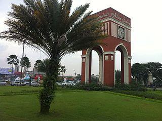 South Tangerang City in Banten, Indonesia