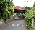 South side of Station Road railway bridge, Shirehampton, Bristol (geograph 3297800).jpg