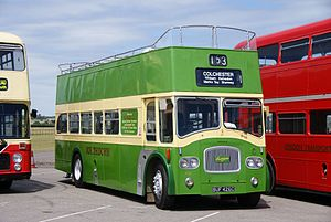 Southdown bus 426 (BUF 426C), 2010 North Weald bus rally.jpg