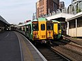 Southern electric multiple units at West Croydon.jpg