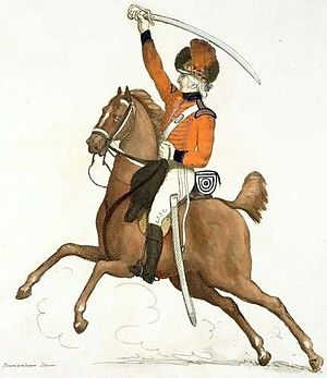 British Volunteer Corps - A Southwark cavalry volunteer