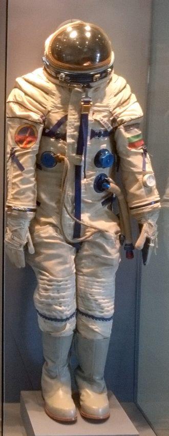 Georgi Ivanov (cosmonaut) - Georgi Ivanov's space suit in Aviation museum Plovdiv
