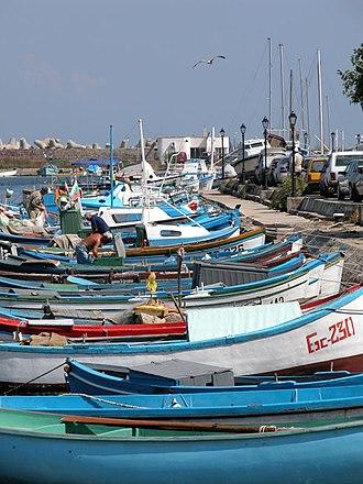 Sozopol - Fishermen's boats in Sozopol