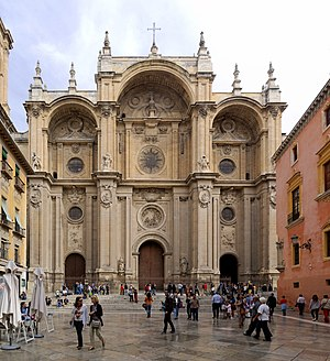 Granada Cathedral - Facade of the Cathedral
