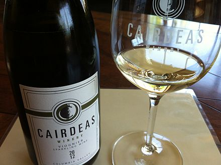 A sparkling Viognier from Washington State