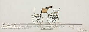 Phaeton (carriage) - Hooper Spider Phaeton (1860)