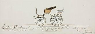 Phaeton (carriage) - Hooper Spider Phaeton (1860)