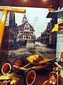 Spielzeug vor historischem Hintergrund Giengen (4760515772).jpg