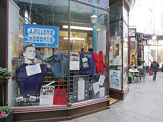 Spillers Records - Image: Spillers Records, 31 Morgan Arcade, Cardiff