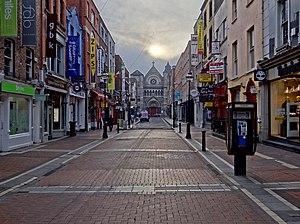 St. Ann's Church, Dawson Street - The church is at the eastern end of Anne Street, a shopping street branching off Grafton Street.
