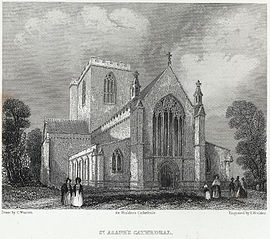 St. Asaph's cathedral, West End