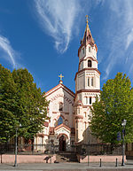 St. Nicholas Orthodox Church Exterior, Vilnius, Lithuania - Diliff.jpg