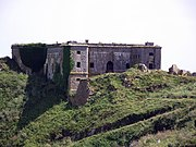 St Catherines Fort, St Catherines Island, Tenby, Wales, UK-14June2011
