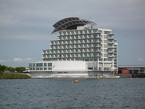 The St David's Hotel - St David's Hotel from Cardiff Bay